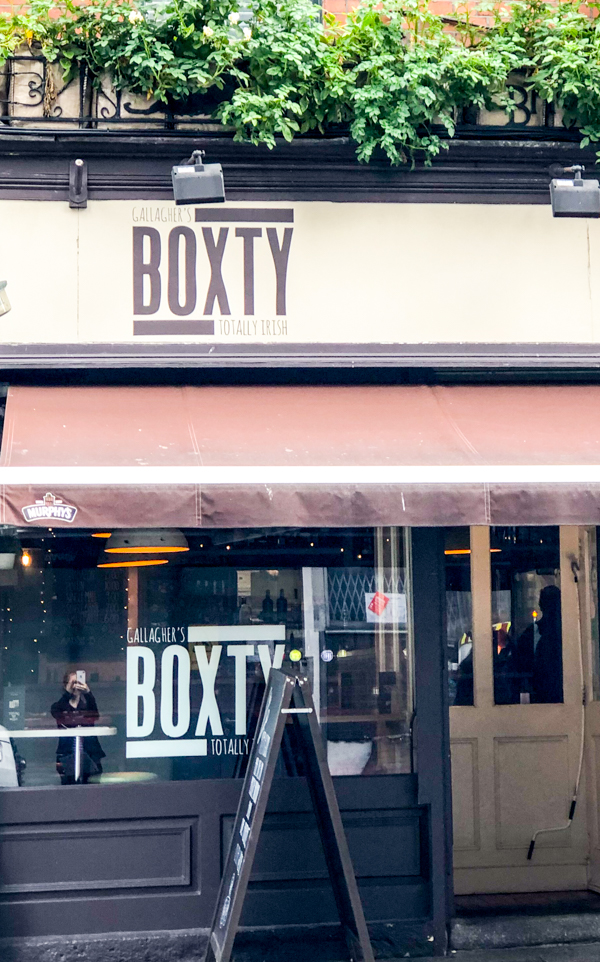 Boxty House on Delicious Dublin tours on eatlivetravelwrite.com