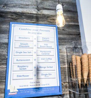 Murphy's Ice Cream selection on Delicious Dublin tours on eatlivetravelwrite.com