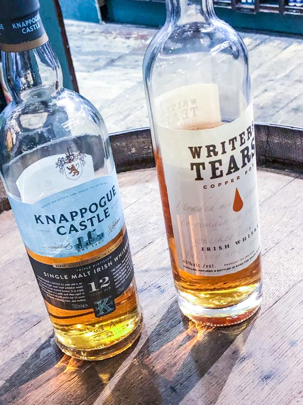 Whiskey Tasting on Delicious Dublin tours on eatlivetravelwrite.com