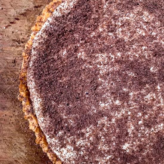 Dorie Greenspan Tiramisu Tart from Baking Chez Moi on eatlivetravelwrite.com