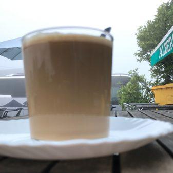Morning coffee walking the Camino de Santiago: O Cebreiro to Triacastela with Camino Travel Center on eatlivetravelwrite.com