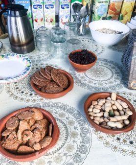 Pilgrim cafe walking the Camino de Santiago: Triacastela to Sarría with Camino Travel Center on eatlivetravelwrite.com