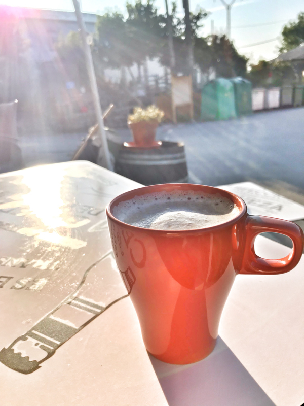 Coffee in La Faba walking the Camino de Santiago: Las Herrerías to O Cebreiro with Camino Travel Center on eatlivetravelwrite.com