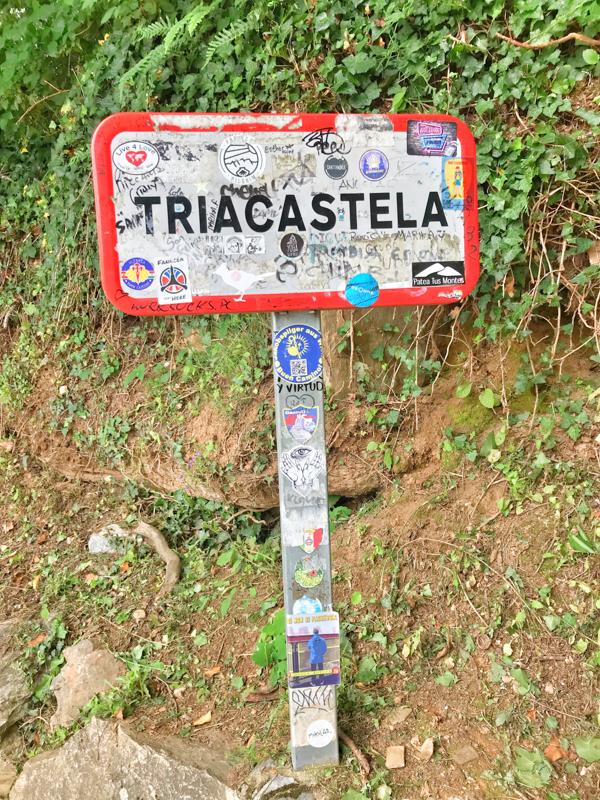 Arriving in triacastela walking the Camino de Santiago: O Cebreiro to Triacastela with Camino Travel Center on eatlivetravelwrite.com
