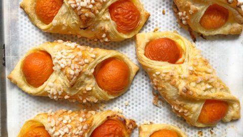 Oreillettes à l'abricot