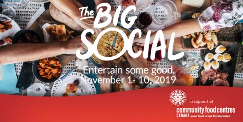The Big Social November 1-10 2019 on eatlivetravelwrite.com