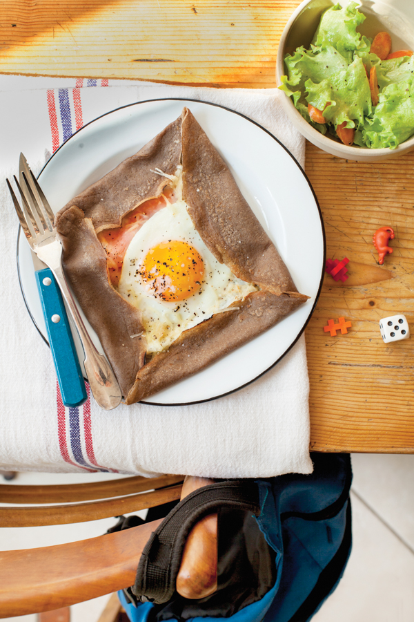 Buckwheat Crepe Recipe Galettes De Sarrasin Eat Live Travel Write