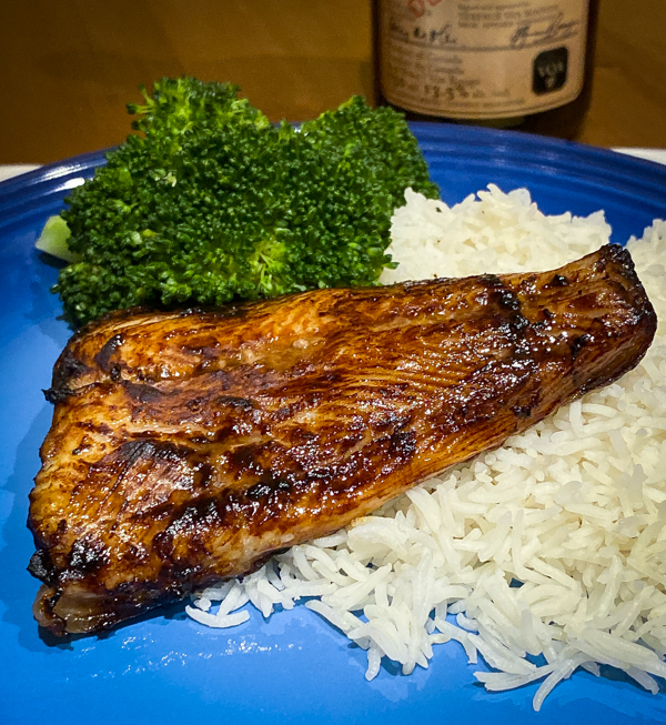 Miso glazed Cod from Everyday Dorie for Cook the Book Fridays on eatlivetravelwrite.com
