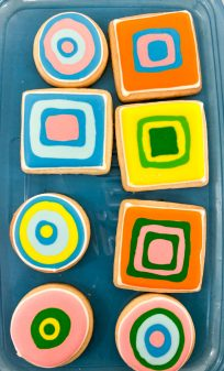 Inspiration for decorating sugar cookies with Adell Shneer on eatlivetravelwrite.com