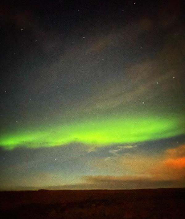 Northern Lights visiting Iceland on eatlivetravelwrite.com