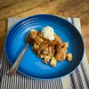 Apple Custard Crisp from Everyday Dorie on eatlivetravelwrite.com