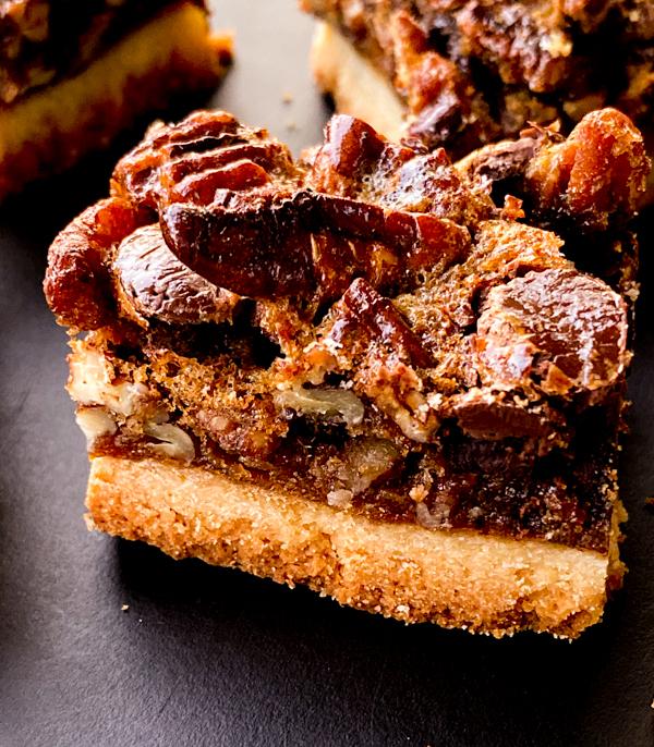 Chocolate-Pecan Pie Cookie Bars from Dorie's Cookies on eatlivetravelwrite.com