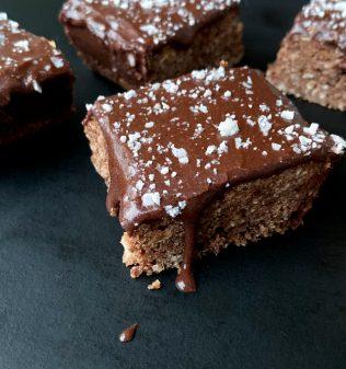 Easy Chocolate Coconut Slice recipe on eatlivetravelwrite.com