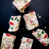 White Christmas square recipe on eatlivetravelwrite.com
