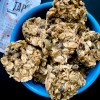 No bake oatmeal chocolate chip energy bites on eatlivetravelwrite.com