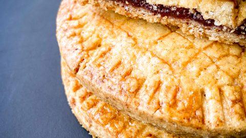 Easy Jam filled Mini Gateau Basque recipe on eatlivetravelwrite.com