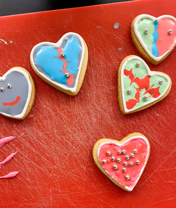 When kids decorate sugar cookies with Adell Shneer on eatalivetravelwrite.com