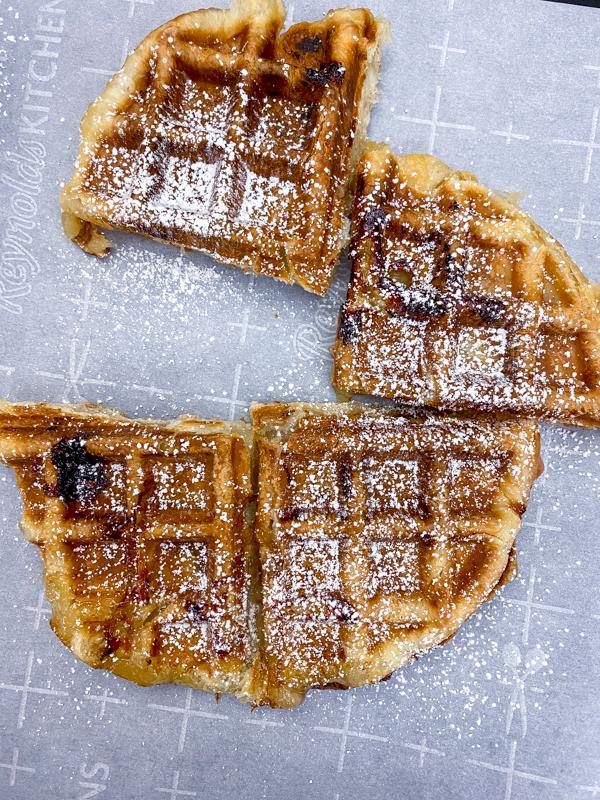 Apple Pie Waffles from Brunch Life with Matt Basile on eatlivetravelwrite.com