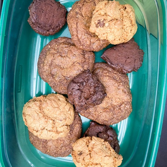Kids bake cookies from Peace, Love and Fibre by Mairlyn Smith on eatlivetravelwrite.com