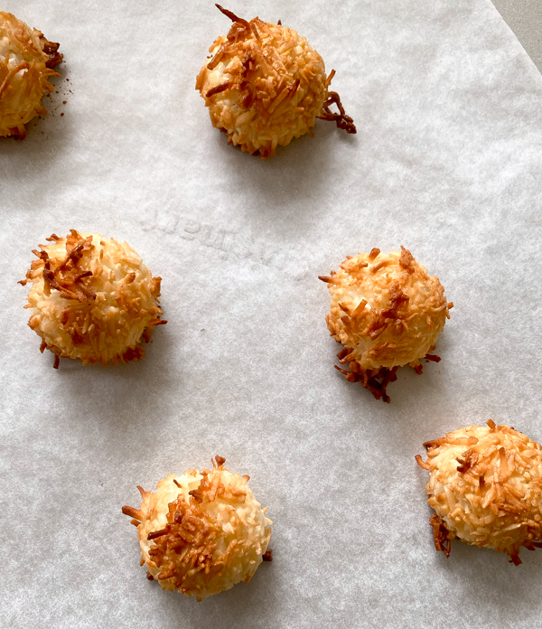Dorie Greenspan Coco Rochers from Baking Chez Moi on eatlivetravelwrite.com