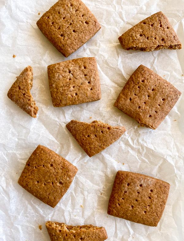 Dorie Greenspan Garam Graham Cookies on eatlivetravelwrite.com