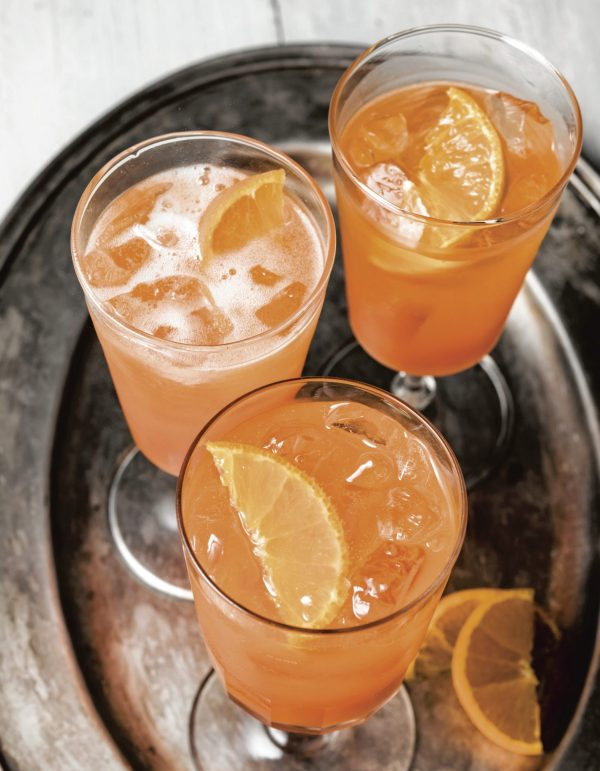 Tangerind Spritz Grapefruit Twist from David Lebovitz's Drinking Frenchphoto by Ed Anderson on eatlivetravelwrite.com
