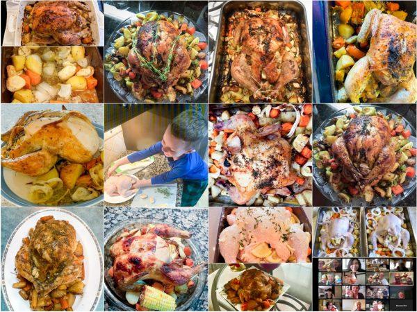 Roast Chicken for Rotary Club of Toronto Virtual Cooking Club on eatlivetravelwrite.com