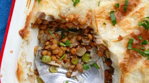 Hachis Parmentier Vegetarien Vegetarian Shepherd's Pie on eatlivetravelwrite.com