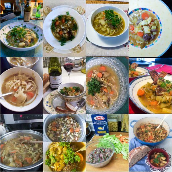 Soupe Joumou for Rotary Club of Toronto Virtual Cooking Club on eatlivetravelwrite.com