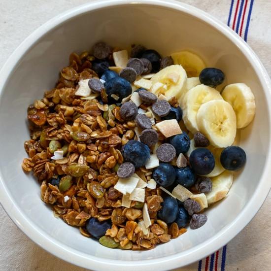 Not-so-sweet granola from Everyday Dorie on eatlivetravelwrite.com