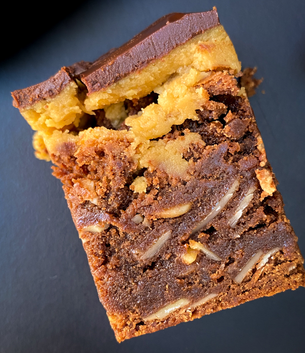 Dorie Greenspan Almond Butter and Fudge Brownies from Dorie's Cookies