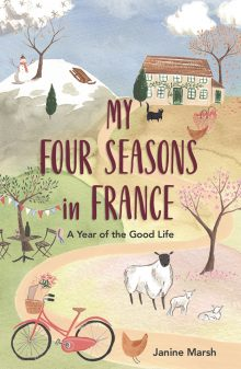 My Four Seasons in France by Janine Marsh book cover