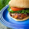 Dorie Greenspan's Tri-Pepper Burger from Everyday Dorie