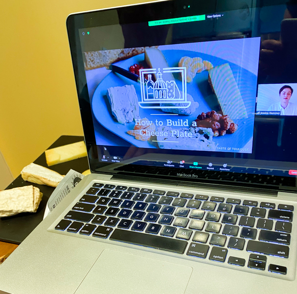 How to make a cheese plate virtual workshop