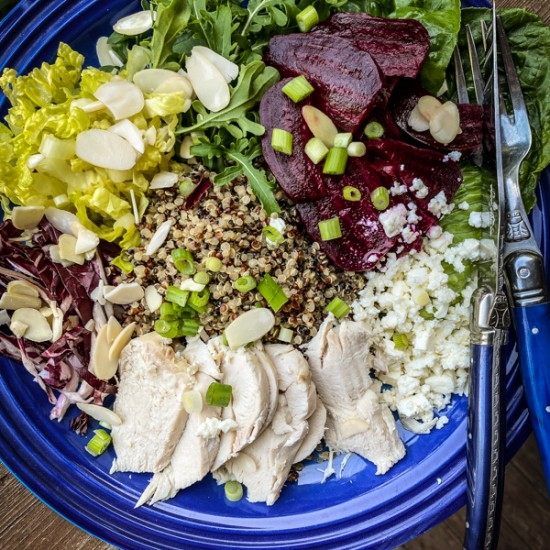 Ginger Beet Salad Bowls from Everyday Dorie