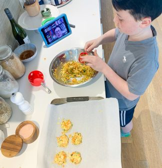 Virtual cooking classes for kids