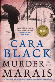 Cara Black's Murder in the Marais cover