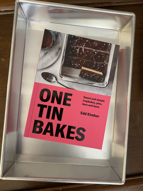 Edd Kimber's One Tin Bakes in a 9 x 13 inch baking pan