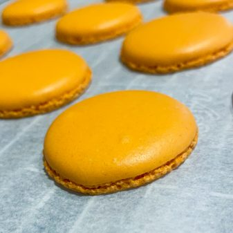 Dorie Greenspan's Parisian Macarons, baked