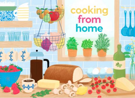 Cooking from Home cookbook cover