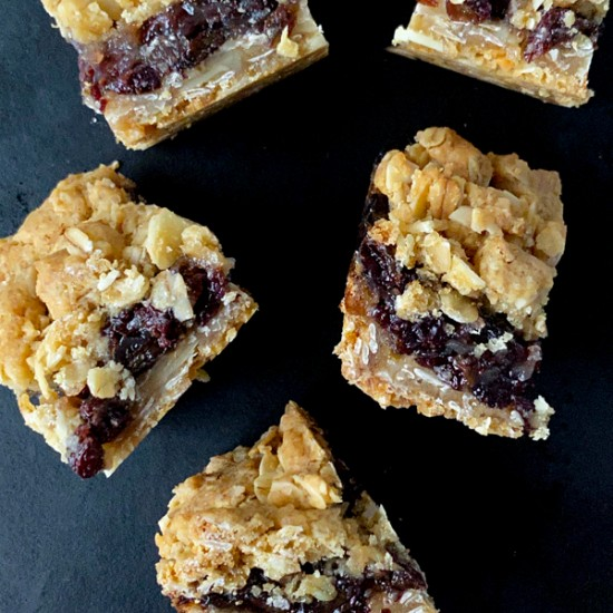 Small Raisin Bars from Dorie Greenspan's Dorie's Cookies