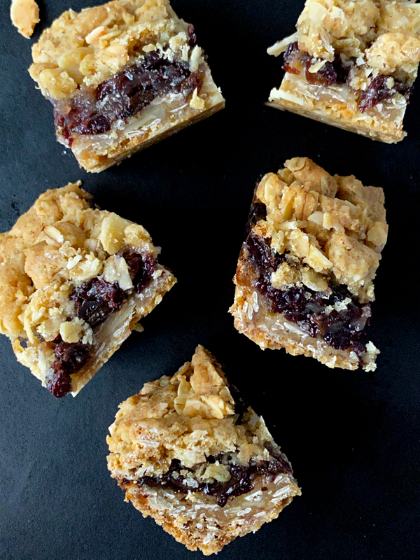 Small Raisin Bars from Dorie Greenspan's Dorie's Cookies