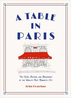 Cover of John Donohue's A Table in Paris.