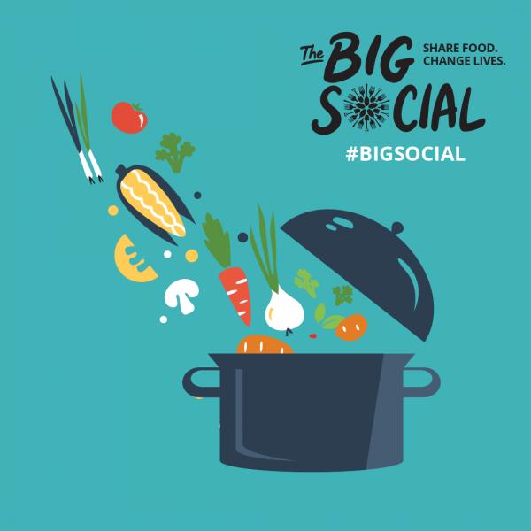 The Big Social 2021 logo.